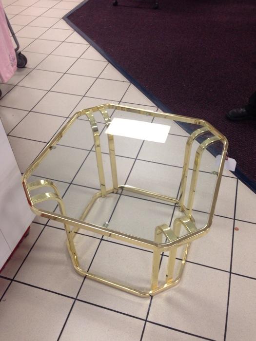 my brass table