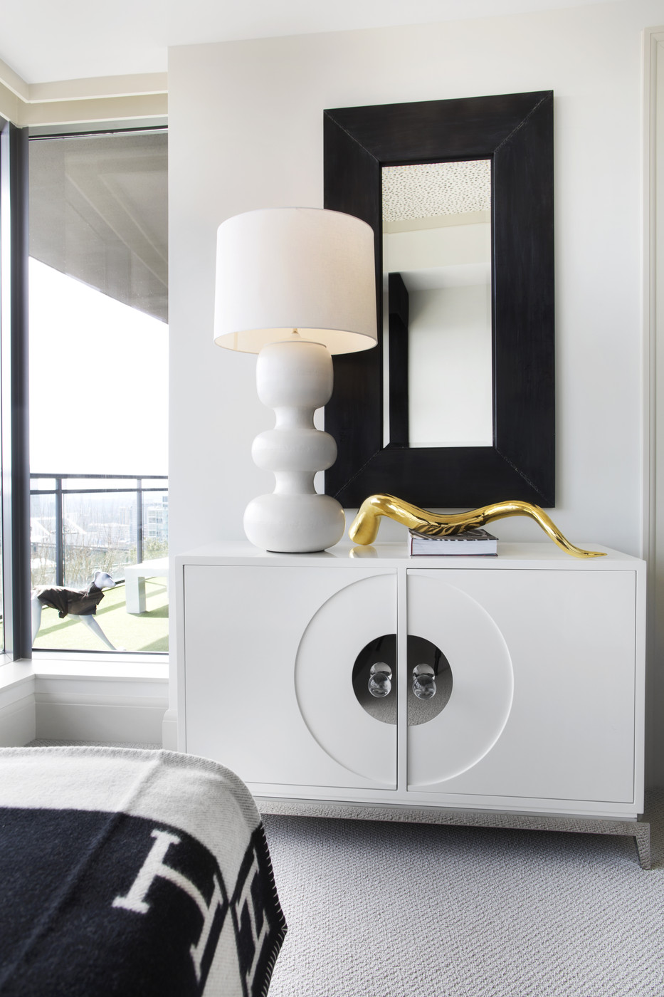 . elements of a modern bedroom   The Decorista