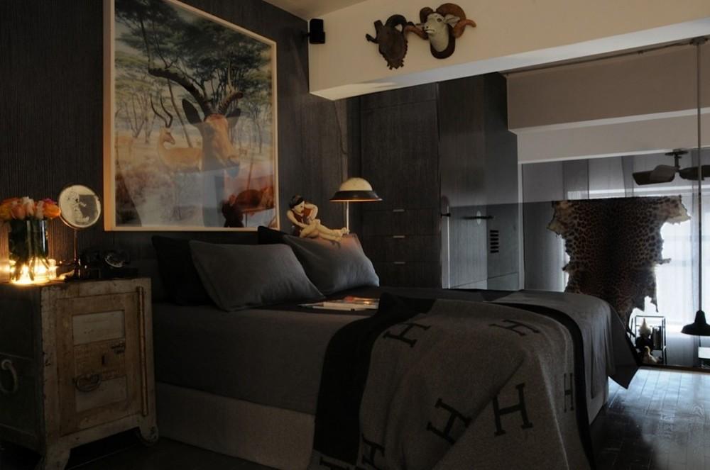 master bedroom Hermes