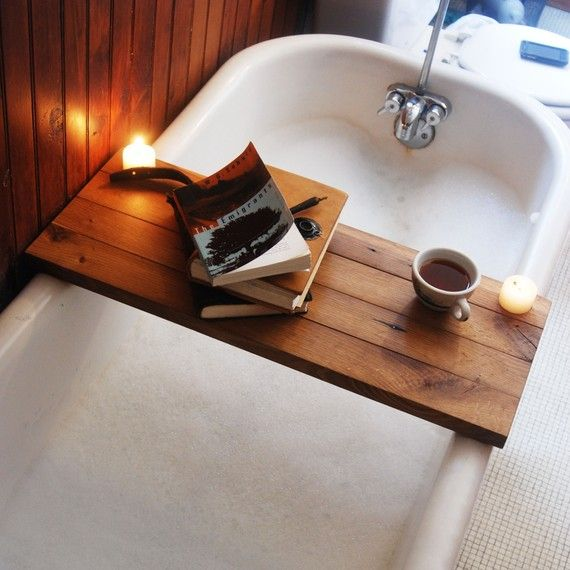 tub wood tray