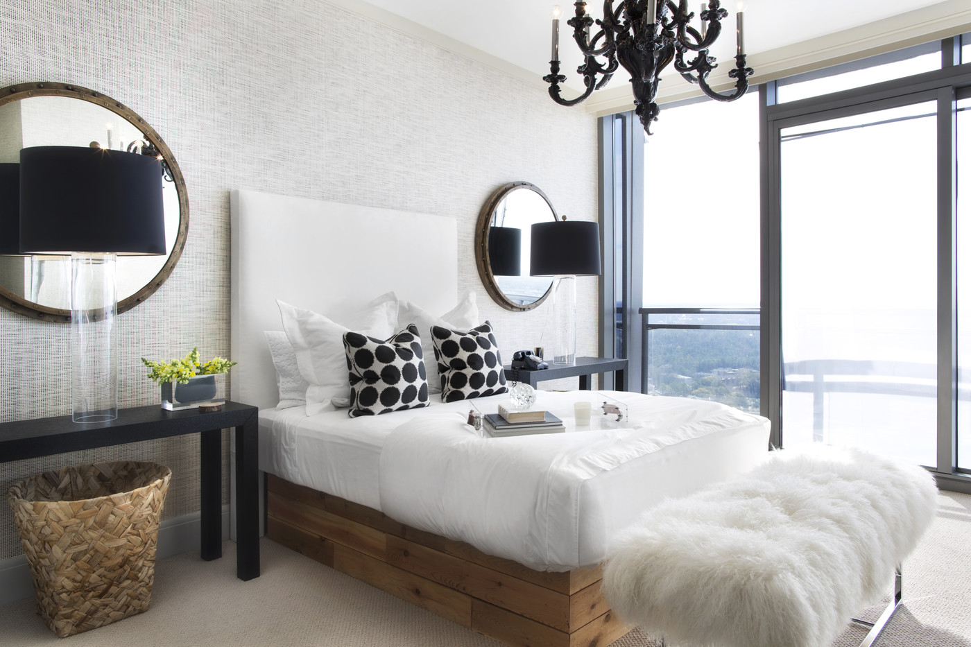 Elements Of A Modern Bedroom The Decorista