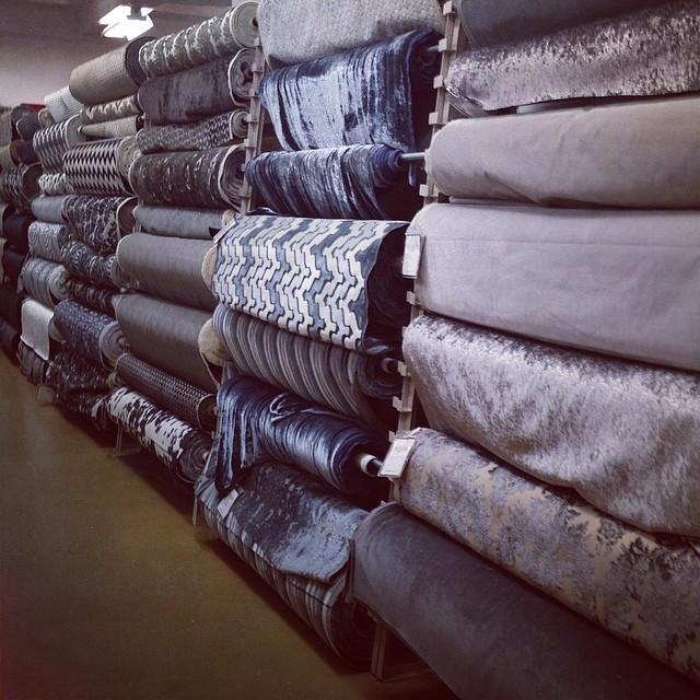 gray fabrics