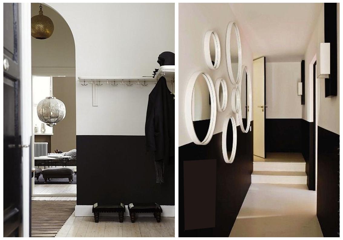 Black Wall Paint paint inspiration: black & white — the decorista
