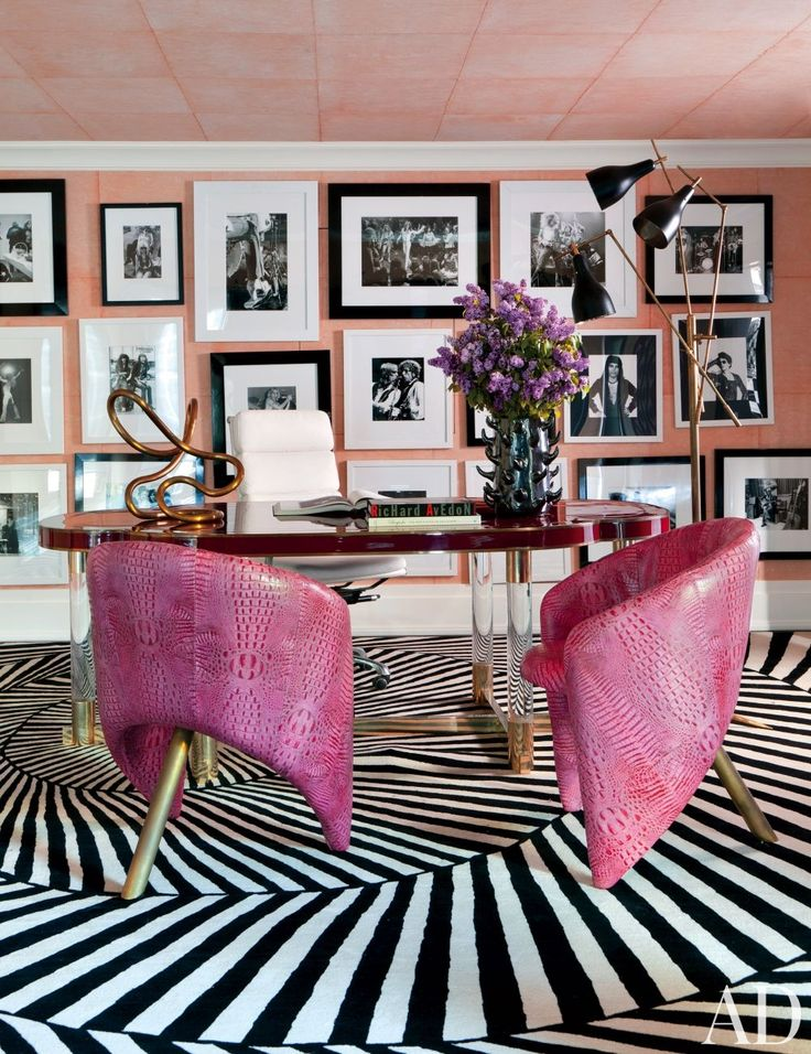 Get The Look Hollywood Glam Office The Decorista