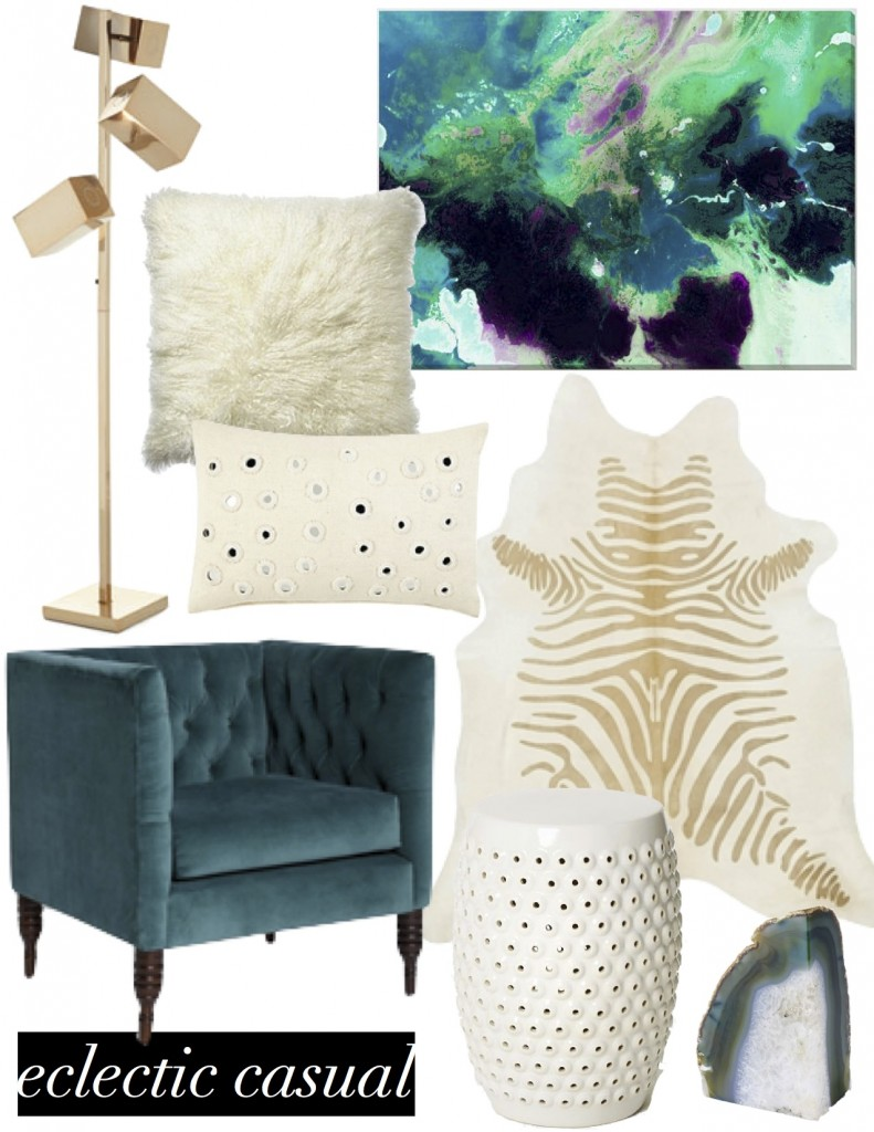 mood board eclectic