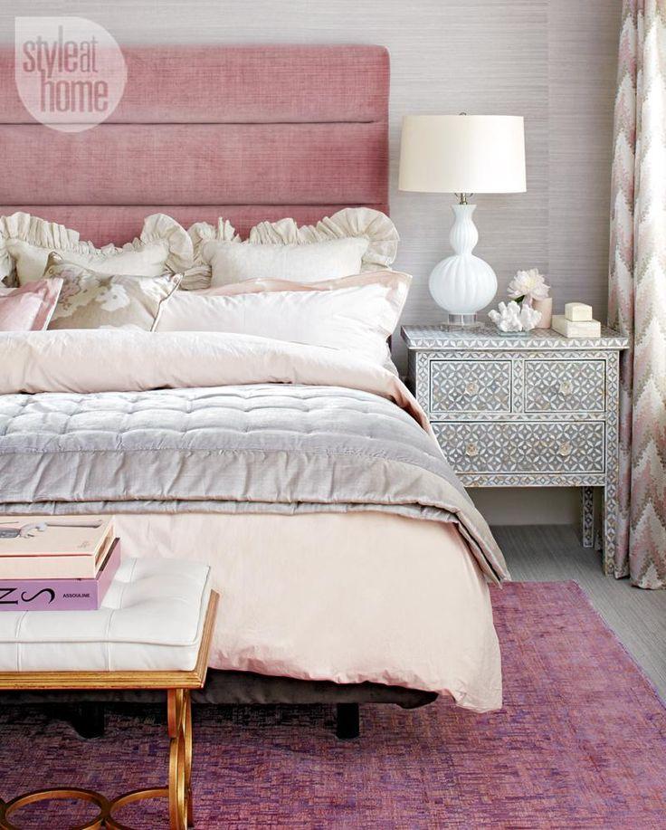 Get The Look: Romantic Modern Bedroom
