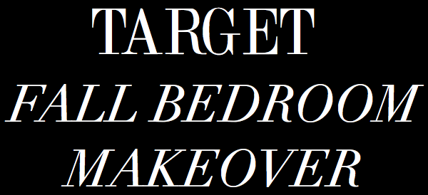 target bedroom makeover