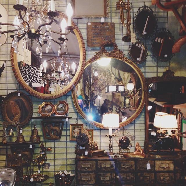 antiquing mirrors