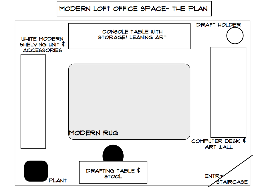 layout for office