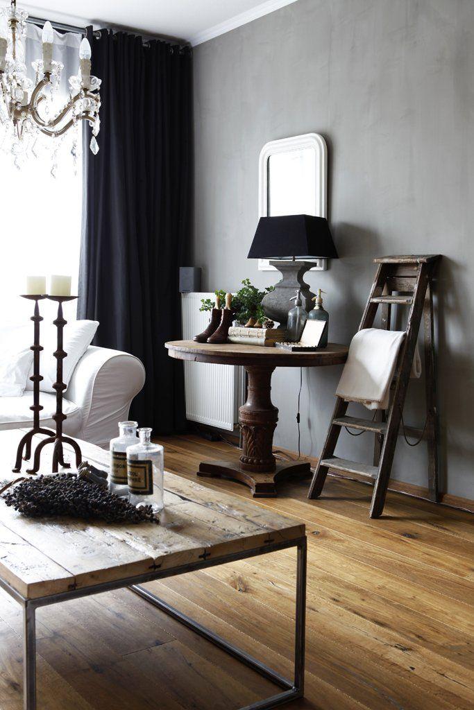 Killer color combo black grey white wood the decorista for Dubai decoration interieur