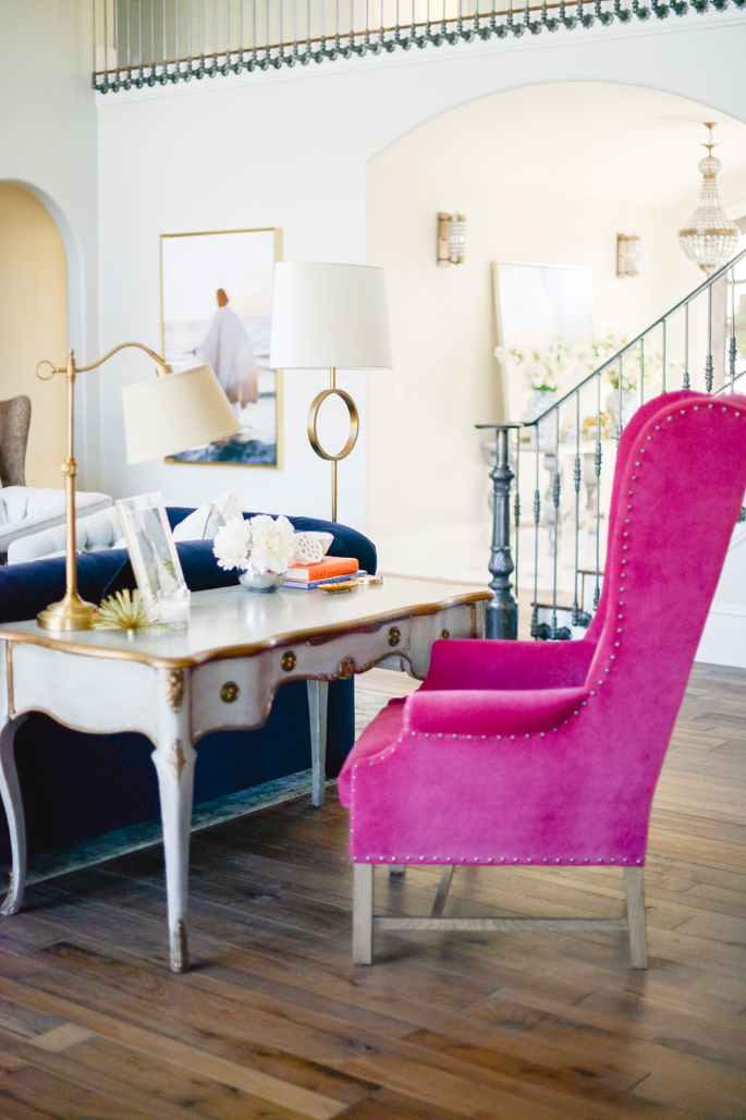 Office space of the day...Rach Parcell Pink — The Decorista