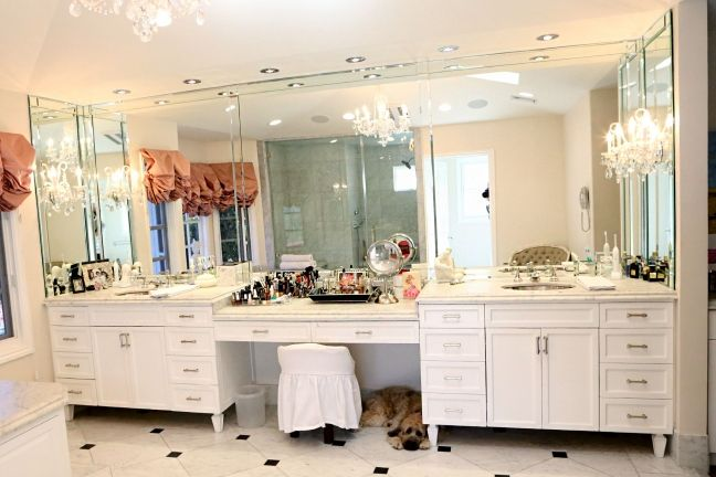 Home Tour Kyle Richards Real Housewives of Beverly  : masterbath from www.thedecorista.com size 648 x 432 jpeg 46kB