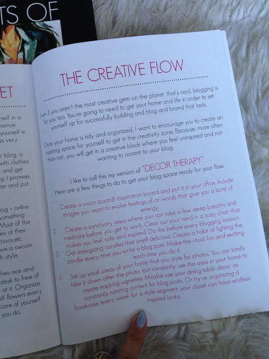 A peek inside my book