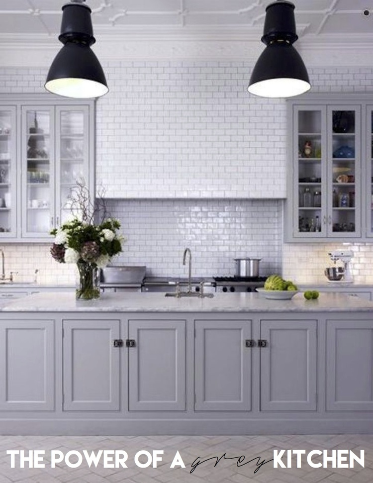 Grey Kitchen why you should go for a grey kitchen — the decorista