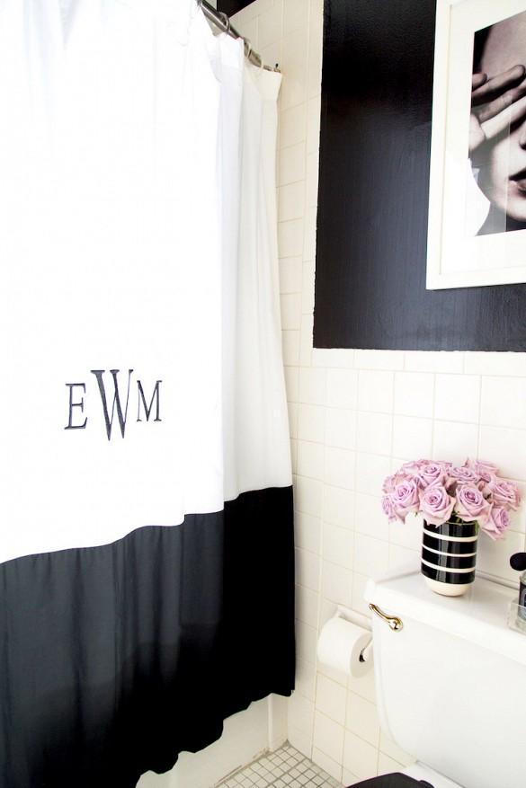 Best Black bathroom styling tips — The Decorista IB95