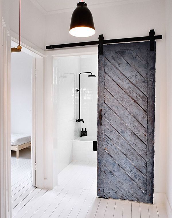 Sliding Barn Door. I Have Been Wanting To Use These Doors In A Project  Lately. I Love What The Look Of This Kind Of Door Gives.