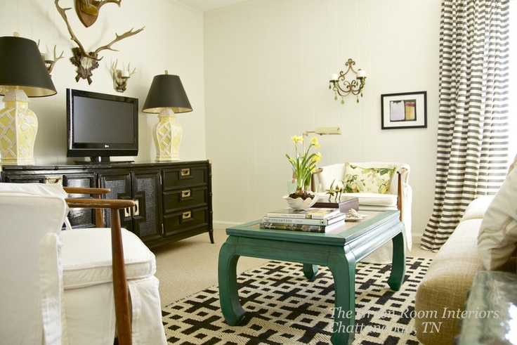 Currently crushing on ming style coffee tables The Decorista