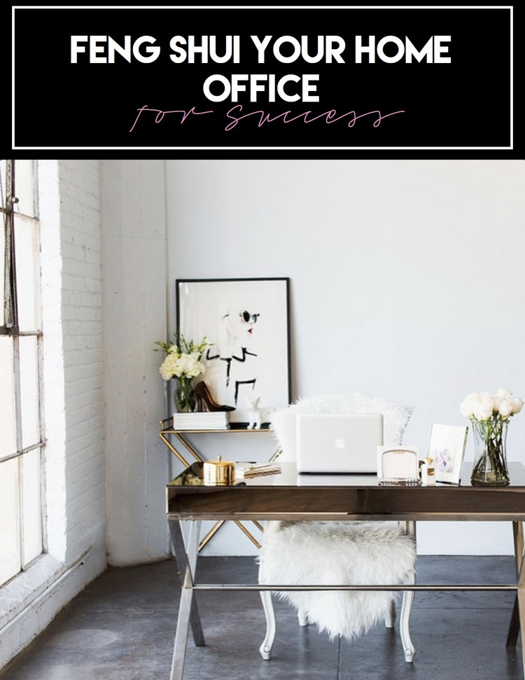Entrepreneuress 101  How to feng shui your home office for