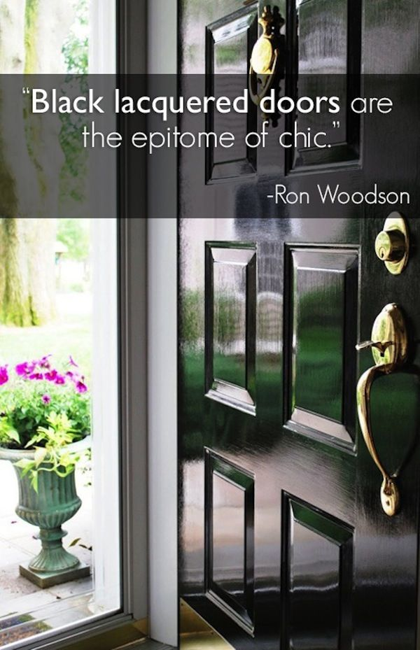 How to curate a show stopping front door & How to curate a show stopping front door \u2014 The Decorista