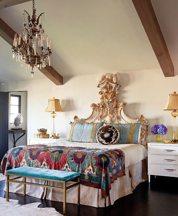 Youu0027ve Got To Be Open To Decorating With Things That Have A Vintage Flair.  Whether It Be An Antique Headboard Or A Gorgeous Vintage Chandelier, ...