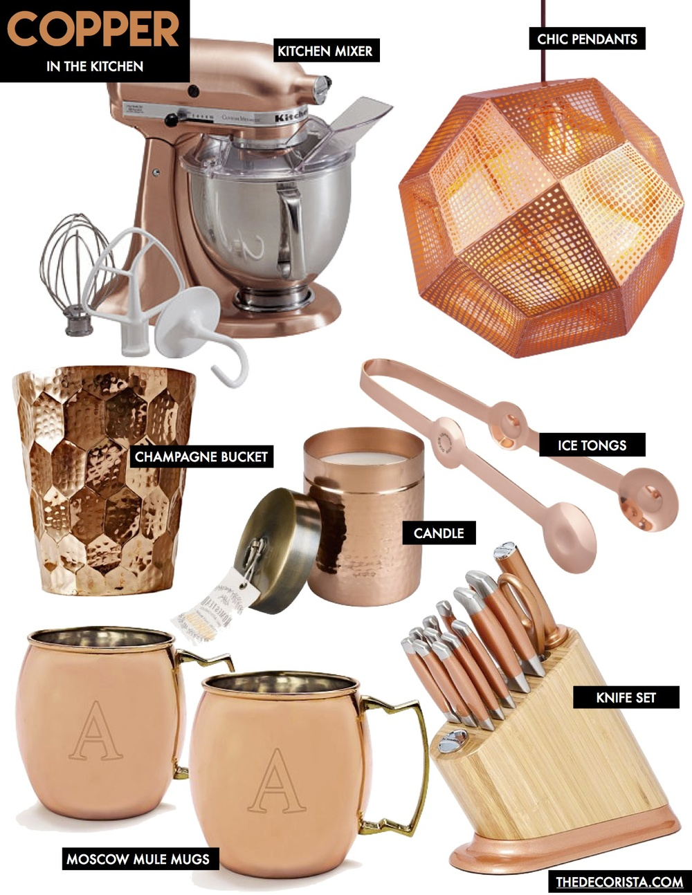 pastel kitchen zq utensilslime coloured peachy utensils pink copper multipurpose next finishing accessories appliances home relieving touches
