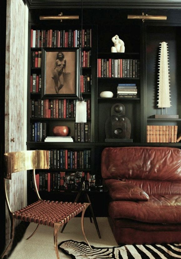 Masculine Interiors 10 inspiring interiors for the guys The