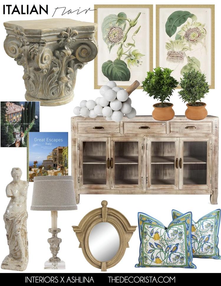 Inspired decor: Italian style