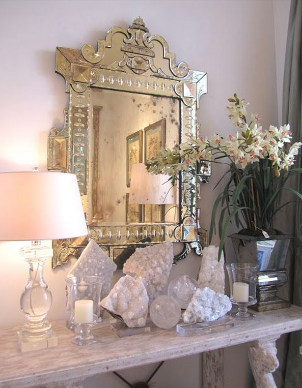 Spiritual glamour how to use crystals and stones in your home to attract more of what you want Ideas to decorate your house