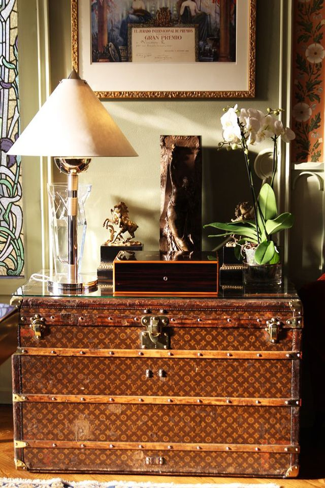 Fashionable Home Accents: The Louis Vuitton Trunk