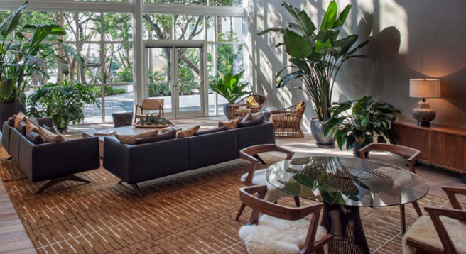 ... for CB2, he recently designed the Paramount Bay hotel in Miami, which  is just every bit as rock star as his line. I love the elegant bohemian  retro-ish ...