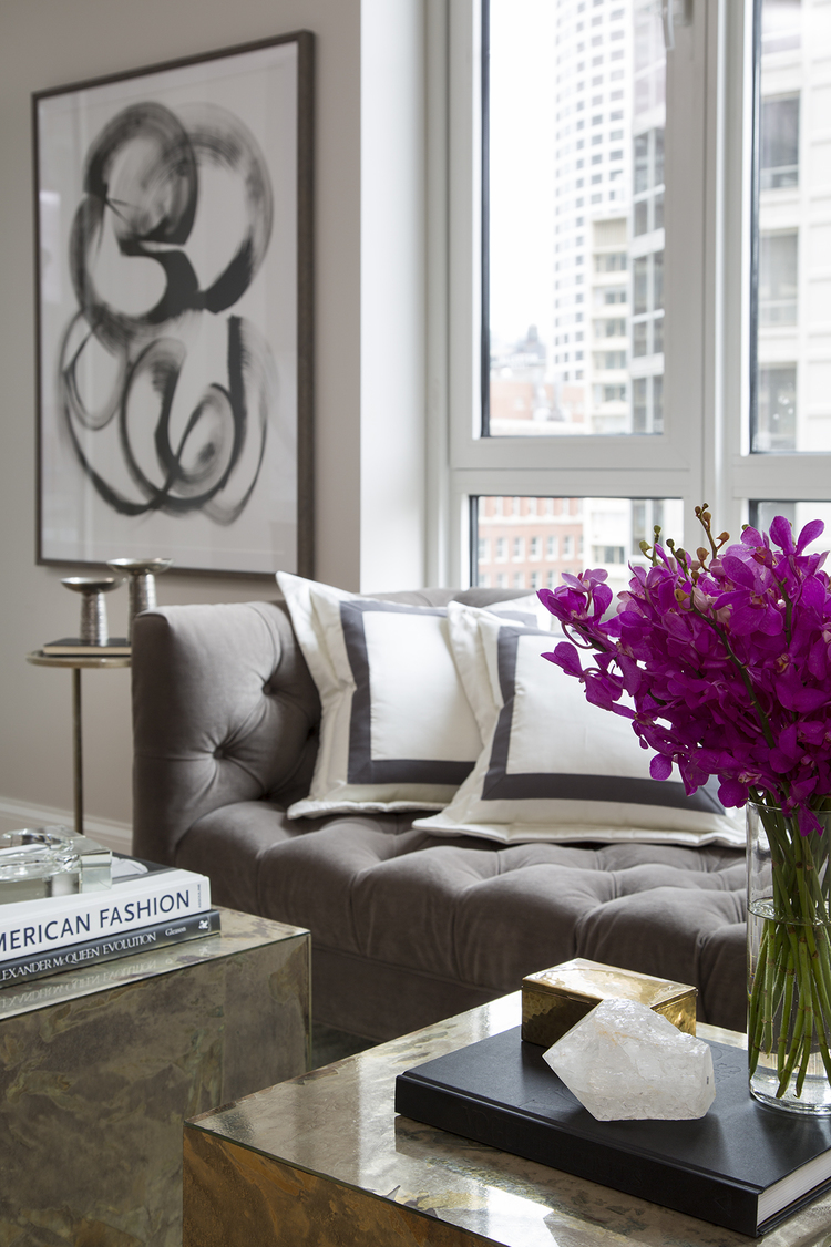 Decorating Chicago The Art Of Modern Glamour  The Decorista - Modern glam bedroom