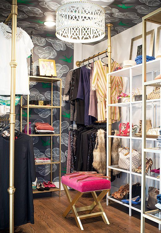 Weekend Decorating Idea Clean Out Your Closet The Decorista