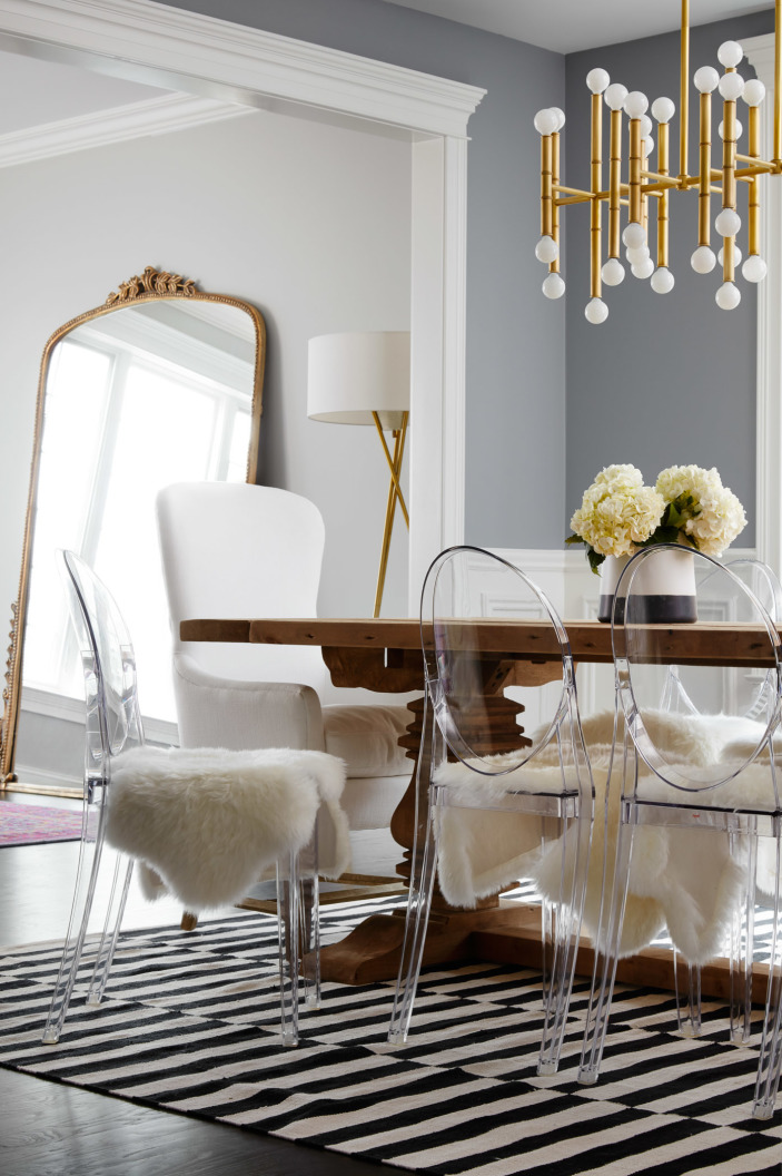 Home Tour: Chicago modern glamour — The Decorista