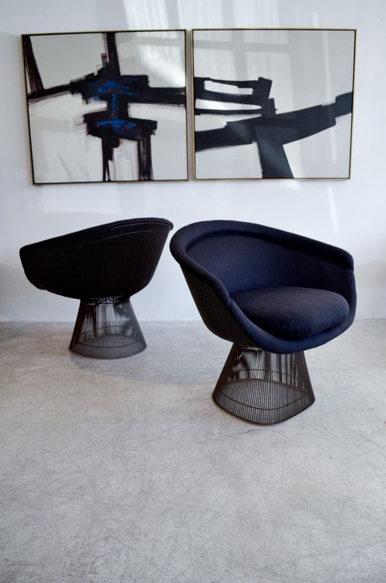 ... With Knoll To Create These Marvelous Chairs Along With Ottomans And  Tables. I Think It Was Around U002766. In The Super Mid Century Modern Fashion.  To. Die.