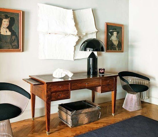 platner chair apartment therapy