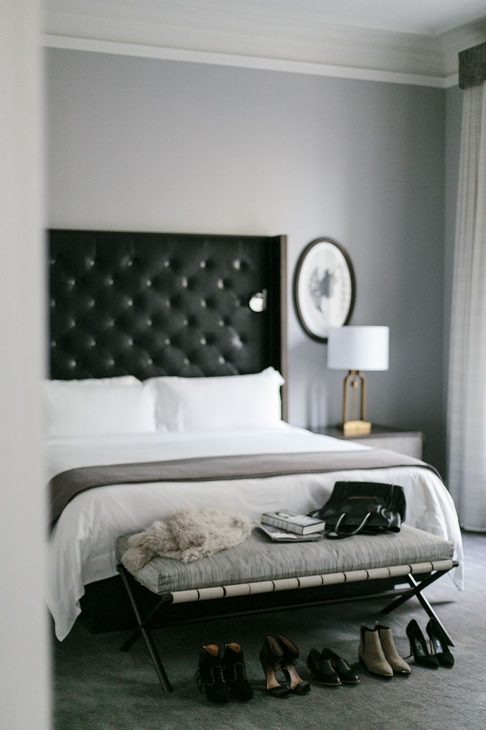 bedroom basics. Let Me Inspire You To Get On The Black Headboard Train A Little Further. Bedroom Basics