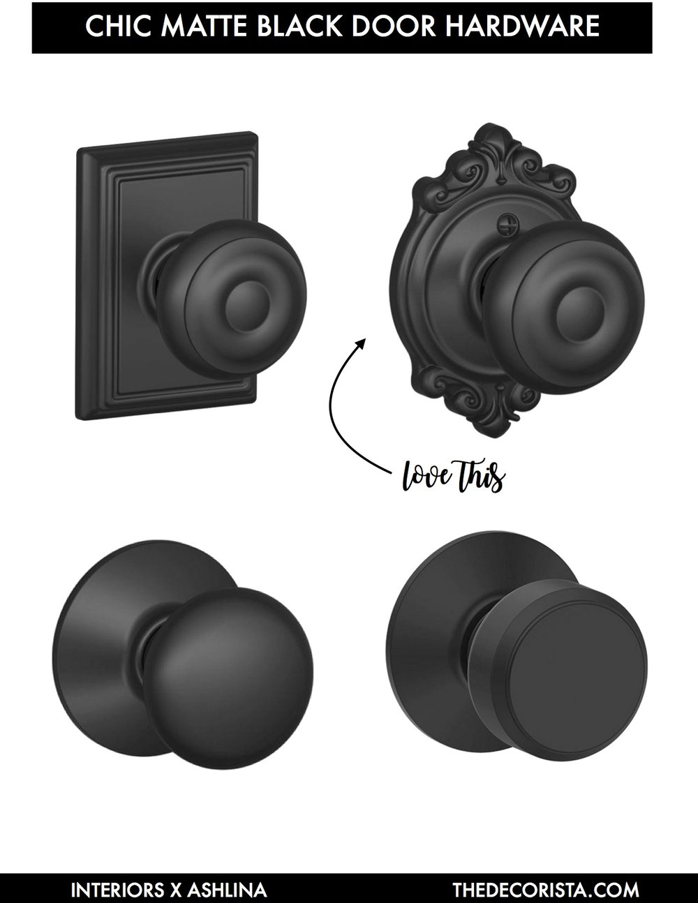 Perhaps My Closet Doors, Since They Are French Style Doors After All, No?  Iu0027m Loving These Beautiful Knobs From Schlage.