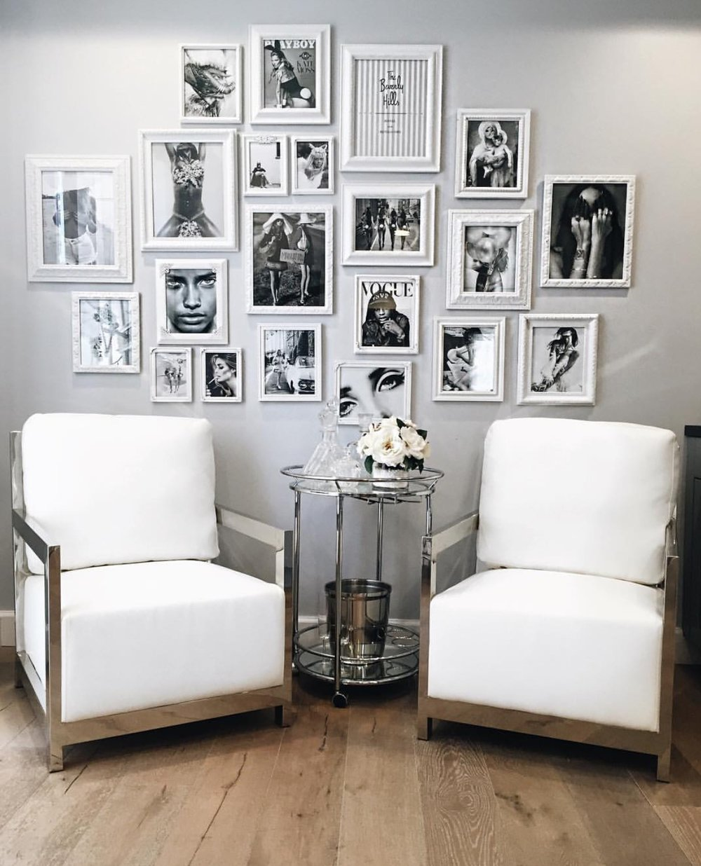 Entrepreneuress 101: A Beautiful Vision Board For Your Office U2014 The  Decorista