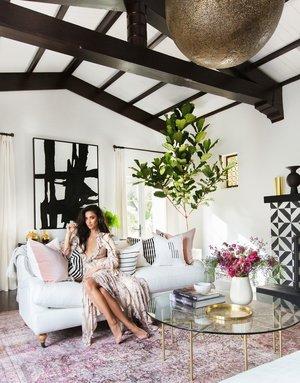 Dec 15 2016 Interior Design Home Tour Office Celebrity Bohemian Los Angeles Inspiration Ashlina Kaposta Comment