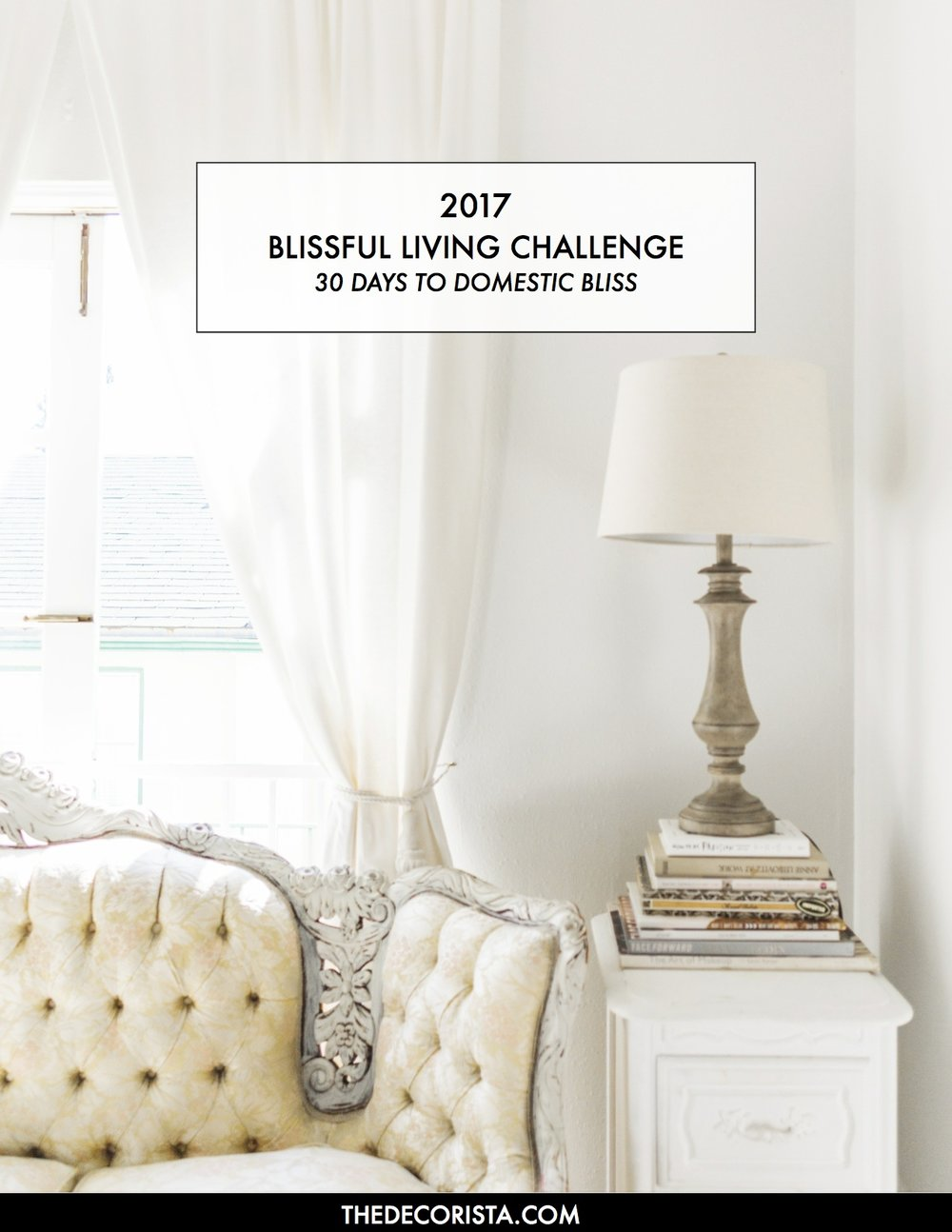 Beautiful Blissful Living Challenge For 2017