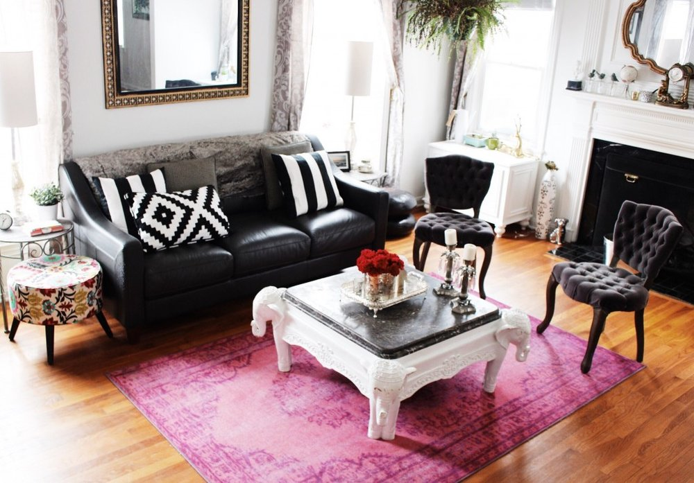 Decor therapy: infusing color through your rug — The Decorista
