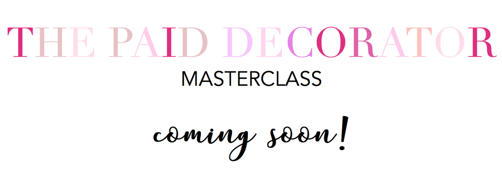 The Paid Decorator Masterclass