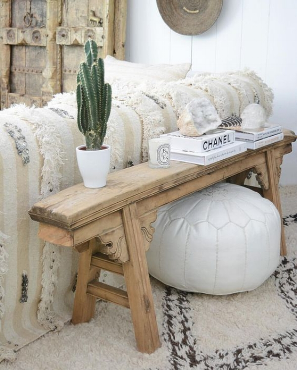 Global Decor Inspiration Bohemian Glamour In Neutrals The Decorista