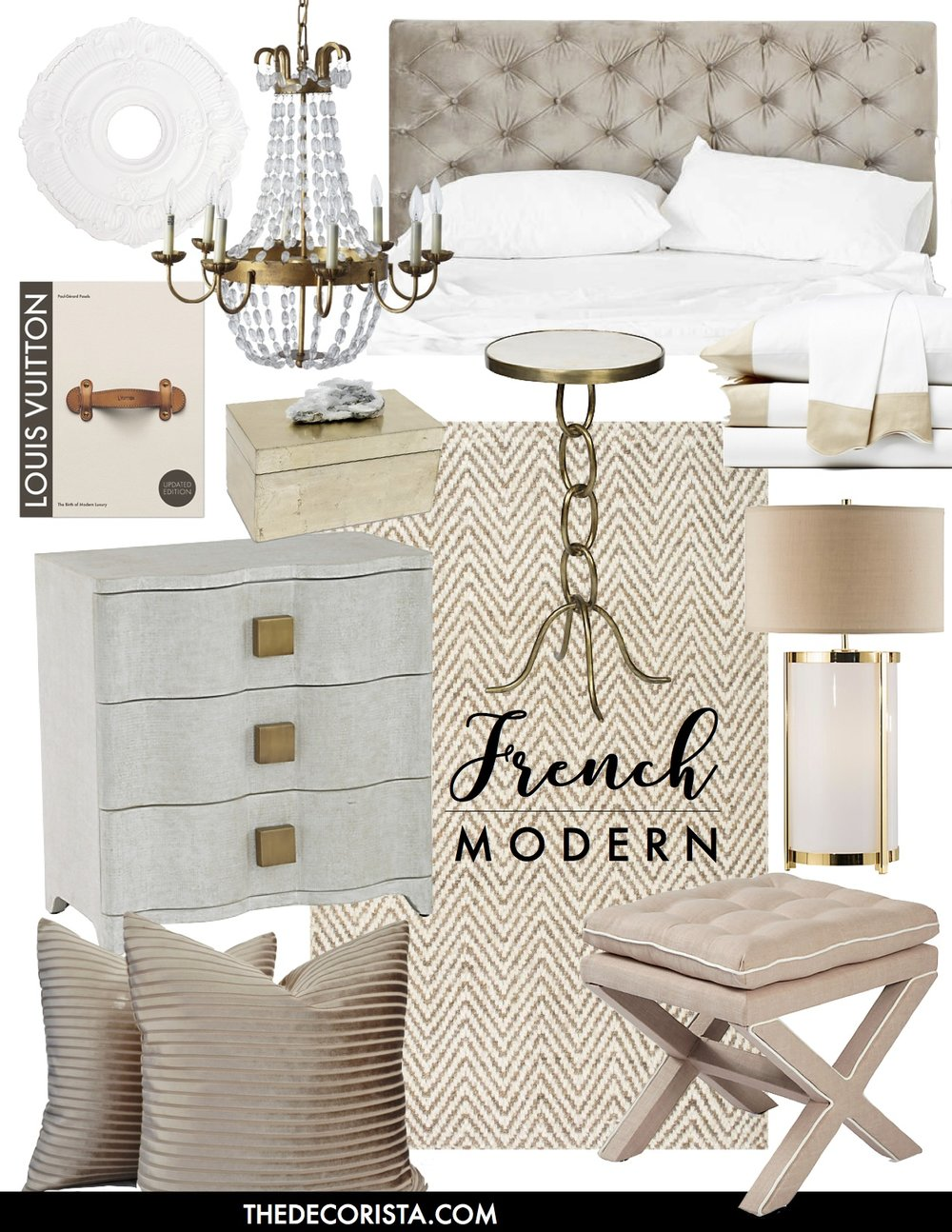 French Modern Mix