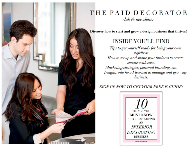 the paid decorator