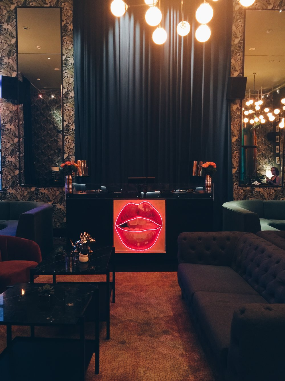 Living Room Bar Miami Wanderlust Doheny Room At Delano Hotel South Beach Miami The