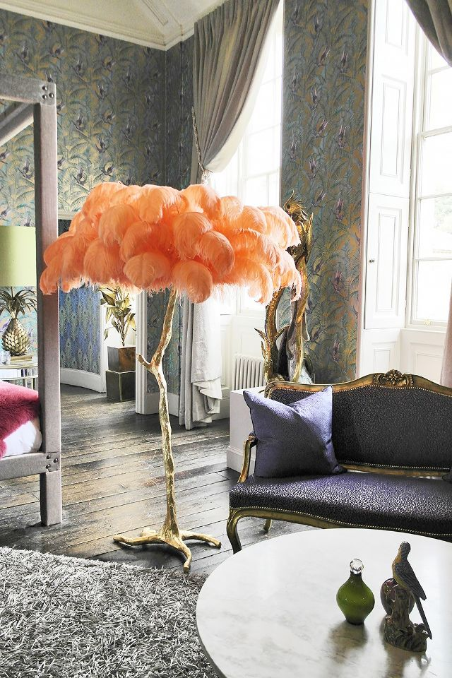 Weekend decorating idea create your luck with a chic brass palm