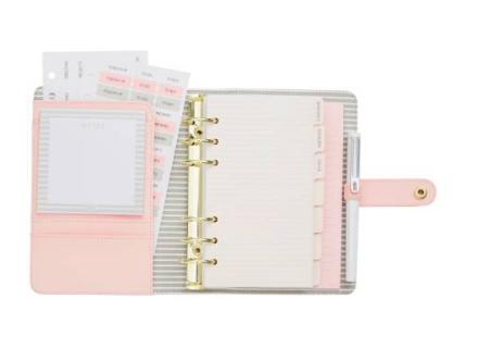 pink planner