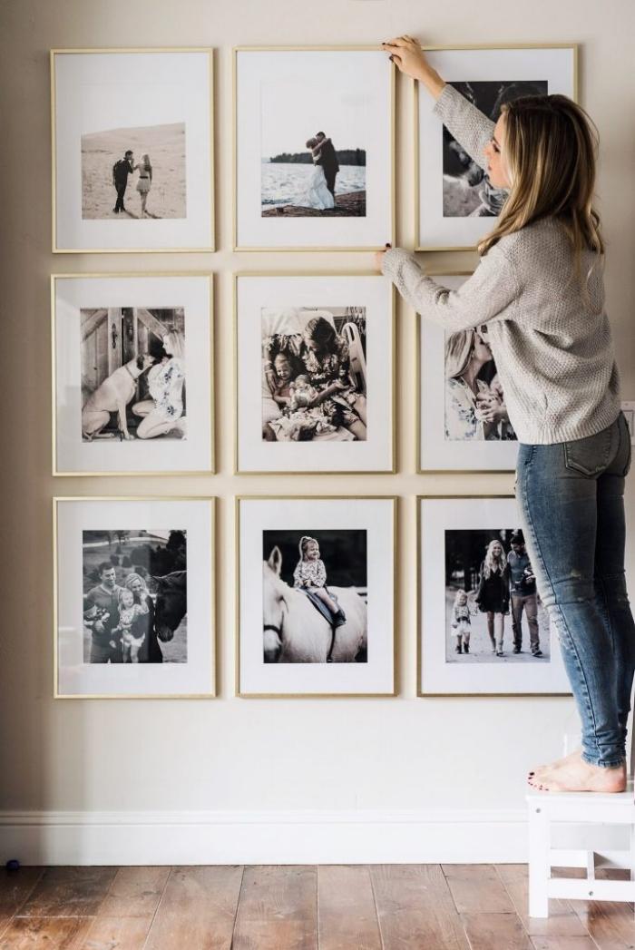 照片墙组合