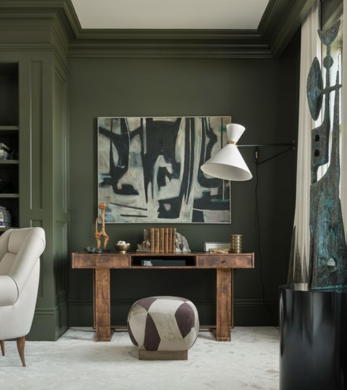 glamorous kitchen colors living room green | Glamorous & Green: decorating with this seasons hottest ...